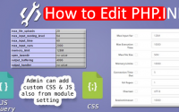 HOW TO EDIT PHP.INI in cPanel