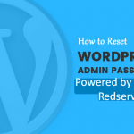 How to Reset my WordPress Password