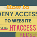 How to block all visitors in your website except yourself via .htaccess file?