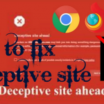 "How to solve ""deceptive site ahead"" issue in website?"