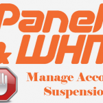 How to check all suspended cPanel account in WHM?