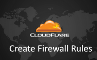 How to block all visitors in your website except yourself in Cloudflare