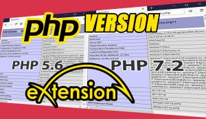 PHP VERSION AND EXTENSIONS|EASY APACHE 4