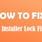 HOW TO FIX? cPanel Installer Lock file issue