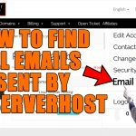 How to find all Emails sent by Redserverhost from Client Area