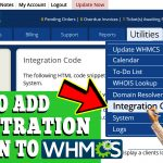 HOW TO ADD USER REGISTRATION BUTTON TO WHMCS