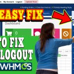 HOW TO FIX AUTO LOGOUT ISSUE IN WHMCS