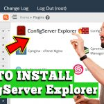 HOW TO INSTALL CONFIG SERVER EXPLORER IN WHM ROOT SERVER