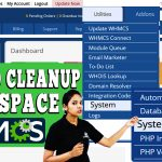 HOW TO CLEAN UP DISK SPACE IN WHMCS