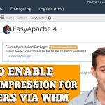 HOW TO ENABLE G-ZIP COMPRESSION FOR ALL USERS VIA WHM ROOT
