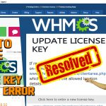 How to solve WHMCS License key update error?[STEP BY STEP]☑️