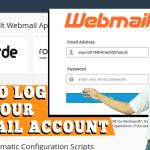HOW TO LOG INTO YOUR WEBMAIL ACCOUNT