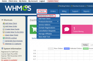 HOW TO SUSPEND/TERMINATE CPANEL ACCOUNT IN WHMCS