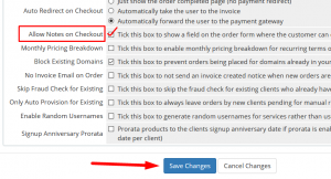 HOW TO ALLOW CUSTOMERS TO ENTER ADDITIONAL INFO ON ORDER FORM IN WHMCS