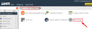 HOW TO PREVENT SENDING ROOT SERVER USAGE INFORMATION TO CPANEL TEAM