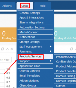 HOW TO SETUP DEFAULT SERVER IN WHMCS