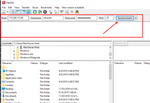 How to Connect to FTP Using FileZilla