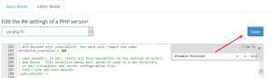 HOW TO DISABLE PHP FUNCTIONS FOR ANY PHP VERSION VIA WHM ROOT