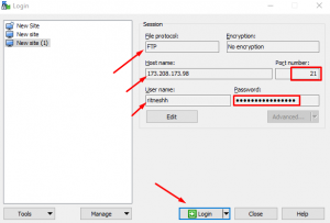 HOW TO CONNECT FTP ACCOUNT USING WINSCP