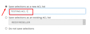 HOW TO SETUP ACL (Automatic Configuration List) IN WHM
