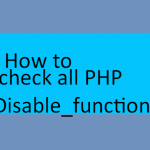 How to know all PHP disabled functions in cPanel