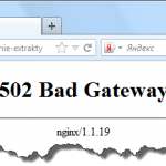 how to fix 502 bad gateway nginx