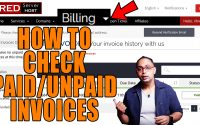 How to check Paid/Unpaid invoices from Client area