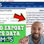 HOW TO EXPORT CLIENTS DATA IN WHMCS