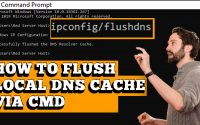 CLEAR THE LOCAL DNS CACHE IN WINDOWS