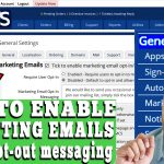 HOW TO ENABLE MARKETING MAILS FEATURE FOR MY CLIENTS IN WHMCS