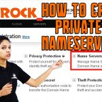 HOW DO I CREATE PRIVATE NAMESERVERS AT BIGROCK