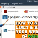 HOW TO SETUP LIMIT AND SECURE WHM VIA CP-NGINX IN WHM ROOT