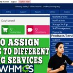 HOW TO ASSIGN SERVERS TO DIFFERENT HOSTING SERVICES IN WHMCS