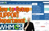 Creating a Support Department in WHMCS