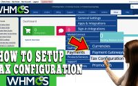 HOW TO SETUP TAX RULES IN WHMCS
