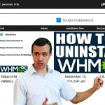 How to Uninstall WHMCS using Softaculous