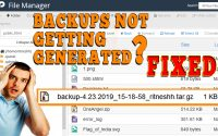 HOW TO SOLVE CPANEL NOT TAKING BACKUP ISSUE VIA WHM ROOT