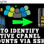 How to Identify Abandoned or Inactive cPanel accounts