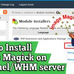 How to Install Image Magick on cPanel/ WHM server
