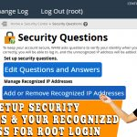 HOW TO APPLY SECURITY QUESTION FOR WHM ROOT LOGIN