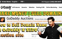 HOW TO SELL YOUR DOMAIN ON GODADDY AND MAKE PROFIT