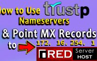 how to Point MX Records to RSH while using Trustp Nameservers