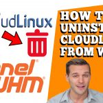 HOW TO UNINSTALL CLOUDLINUX FROM WHM ROOT