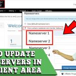 HOW TO UPDATE NAMESERVERS IN REDSERVERHOST CLIENT AREA