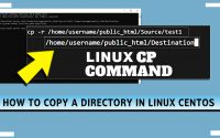 How to Copy a Directory in Linux CentOS