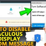 How to Disable Softaculous & display custom message
