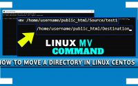 How to Move a Directory in Linux CentOS