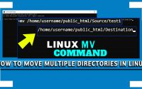 How to Move multiple Directories in Linux CentOS