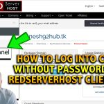 How to log into cPanel without using password via RSH client area