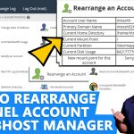 How to Rearrange an Account in WHM